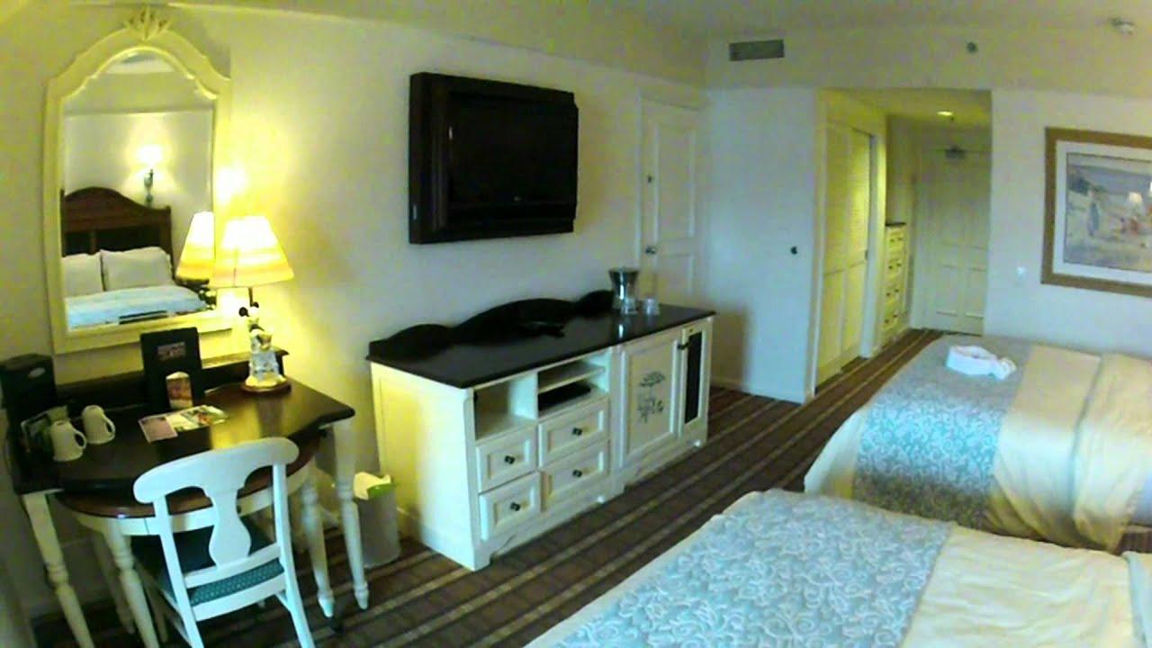 Disney's Beach Club Resort Concierge Club Level Room 5632 Tour, Walt on