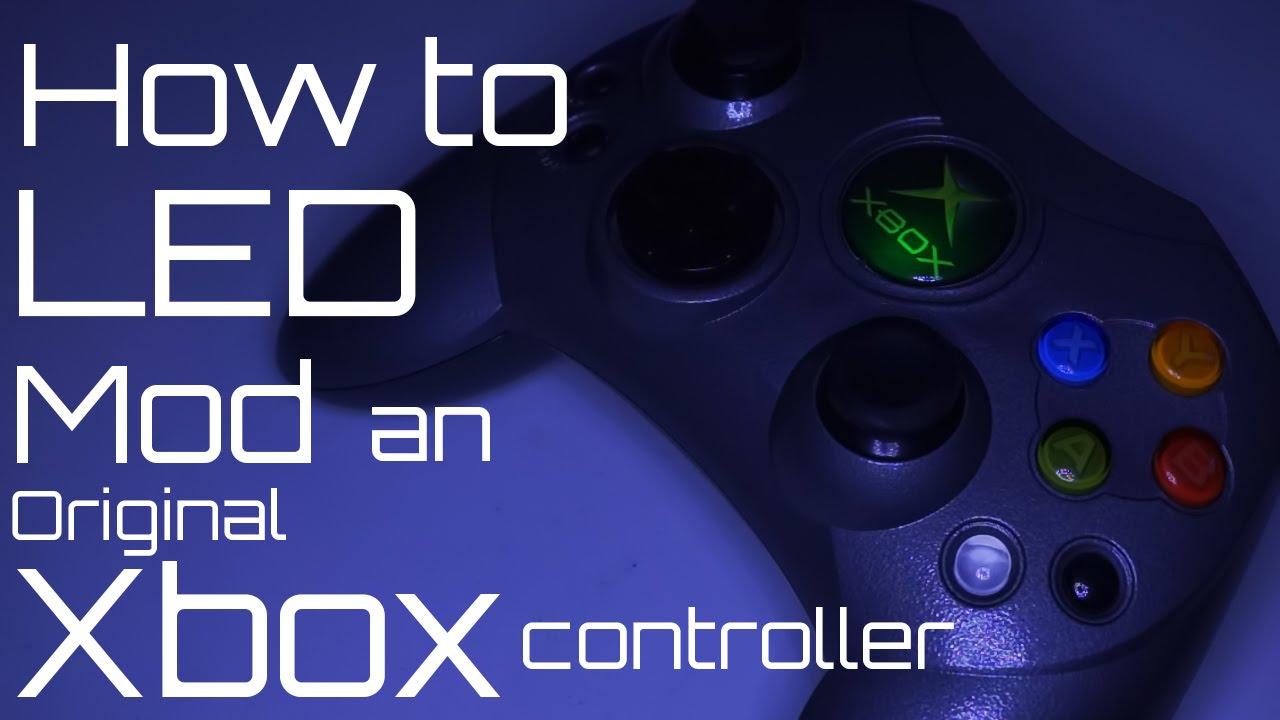 How to LED mod an original xbox controller