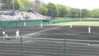 2012年4月30日。春季兵庫県大会準々決勝。東洋大姫路-淡路。明...