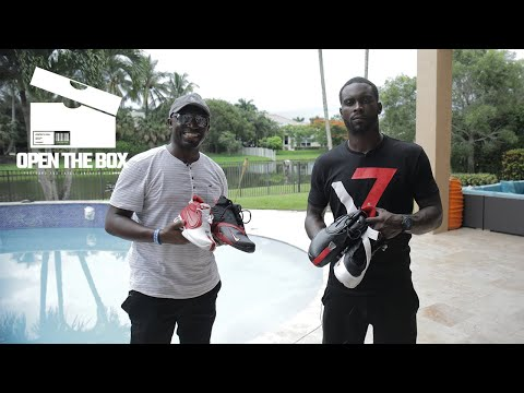 Mike Vick Invites Us Over to Talk History of His Nike Signature Shoe Line | Open the Box