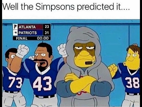 Simpsons Predict 3 Super Bowl WINNERS  Hqdefault