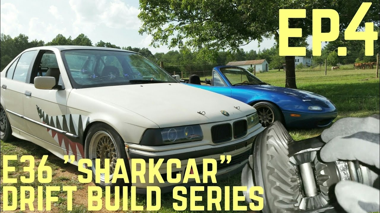 Welded Diff Bmw E36 325i Sharkcar Drift Build Ep 4 Youtube