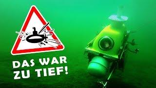 LEBENSGEFAHR in unserem U-BOOT! |  Mit dem BADEWANNEN U-BOOT nach Estland! #5