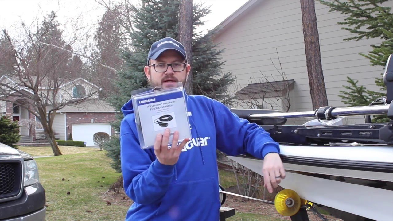 Installing the lowrance hdi transducer youtube for Lowrance hdi trolling motor adaptor for skimmer transducer