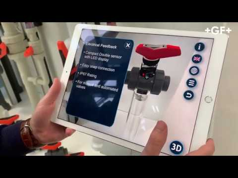 Time For The Ball Valve 546 Pro Augmented Reality App From GF Piping Systems