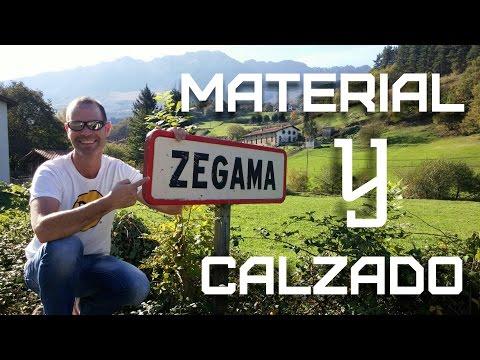 MATERIAL Y CALZADO PARA ZEGAMA-AIZKORRI