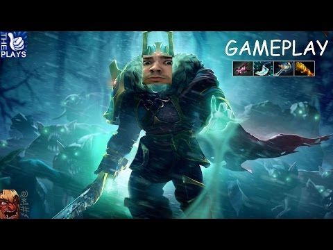 Dota 2 Wraith King Ranked Gameplay Commentary