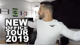 Welcome to my NEW YouTube office for 2019 - Cheap YouTube Setup