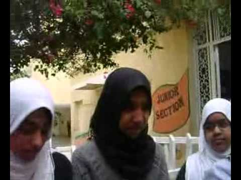 Student Comments on worst situation in  Pakistan Community School and Colleges, Tripoli.mp4