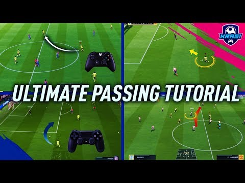 FIFA 19 PASSING TUTORIAL - COMPLETE GUIDE TO PERFECT PASSING   ALL NEW FEATURES