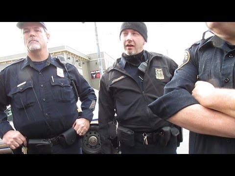Portland Oregon Police, Open Carry AR-15