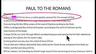Download Paul, a slave of God