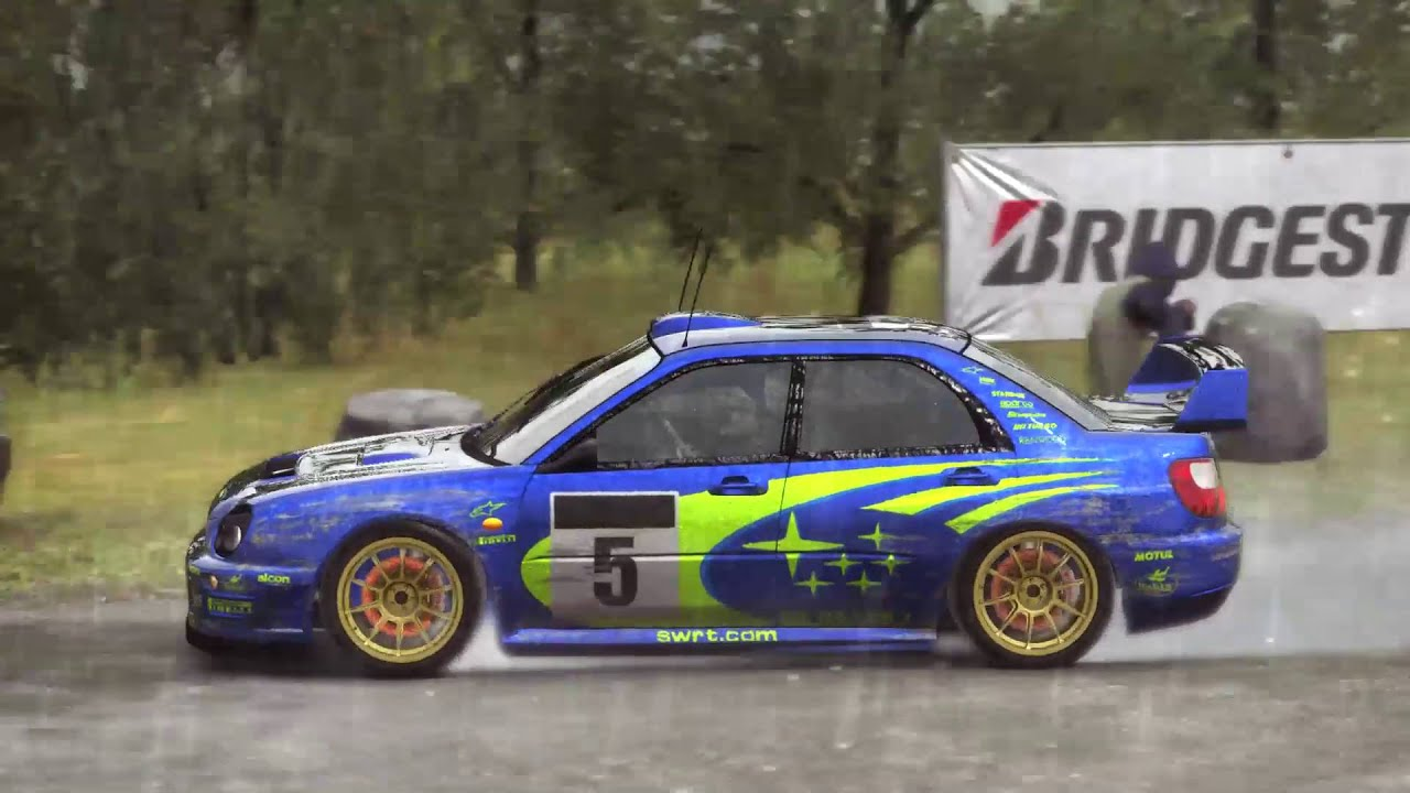 dirt rally subaru showroom ps4 youtube. Black Bedroom Furniture Sets. Home Design Ideas