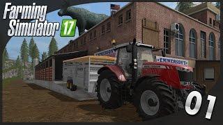 🚜Farming Simulator 17   Let's play #1 : Achat de vaches et visite de la ferme !