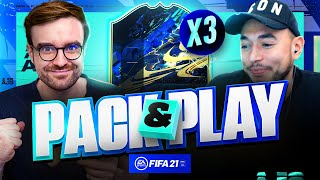 BACK TO BACK TO BACK TEAM OF THE SEASONS!!! Fifa 21 Pack And Play