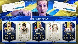 TOTY RONALDO! MÓJ REKORDOWY DRAFT! 3x TOTY + 4 IKONY! | FIFA 19 ULTIMATE TEAM