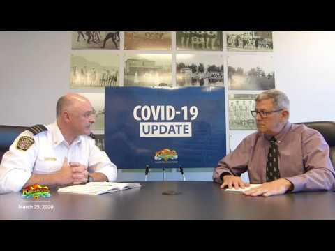 City of Kamloops - COVID-19 Update March 25, 2020
