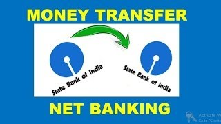 vuclip how to transfer money from sbi to sbi (intra bank fund transfer ) using net banking ( in hindi )