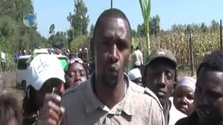 Residents of Kiamaina Ward in Nakuru staged a protest demo over poor state of roads