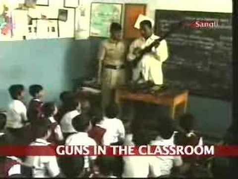 Sangli cops create awareness on guns