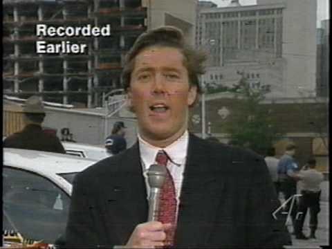 Murrah Building - Reporter caught off-guard