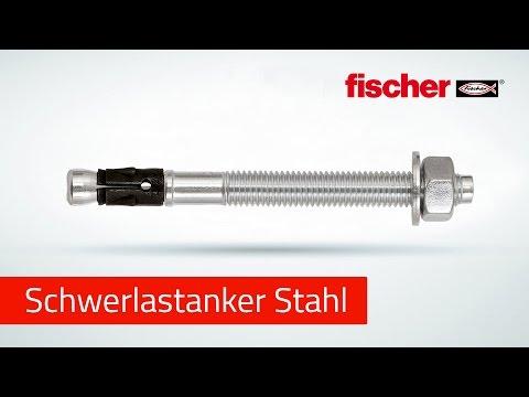 Fischer Schwerlastdübel Faz Ii 810 M8 X 38 Mm Nutzlänge 10 Mm