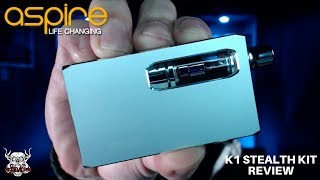 ASPIRE K1 Stealth Kit Review - Keeping it Short & Sweet!