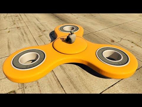 FIDGET SPINNER U GTA 5 !