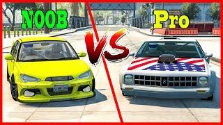 Pro VS Noob Challenge #2 - BeamNG DRIVE