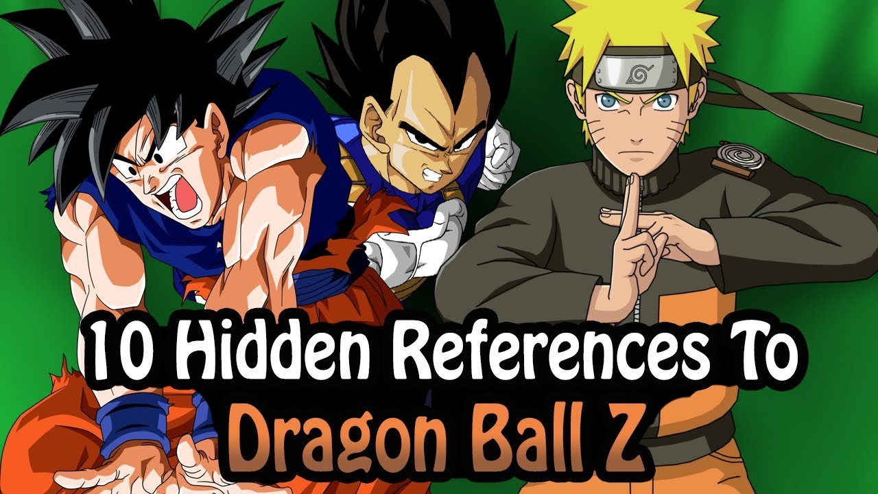 10 references to dragon ball z hidden in other works youtube