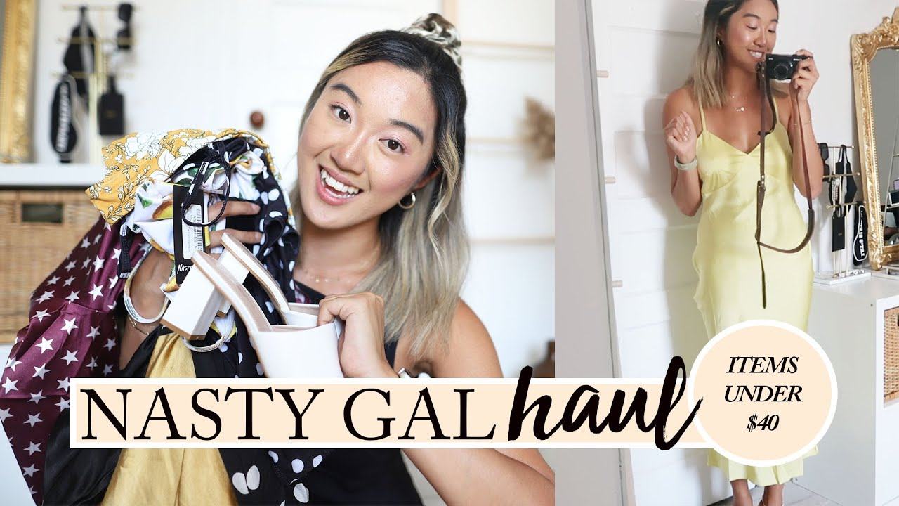 NASTY GAL SUMMER HAUL: Nothing Over $40 (16 Items)