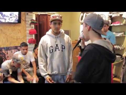 Jethro vs Papicha - Semifinales - Real Freestyle Clan 2014