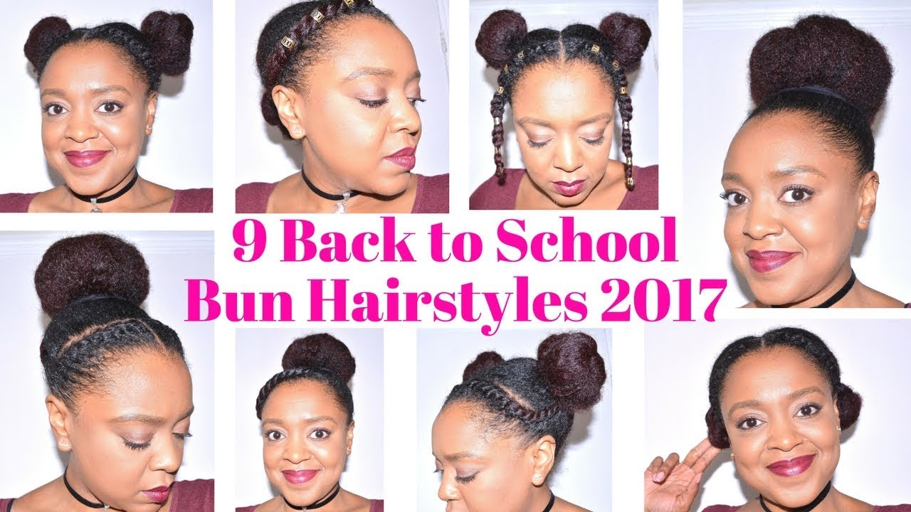 Hair Back To School Curly Hairstyles Youtube