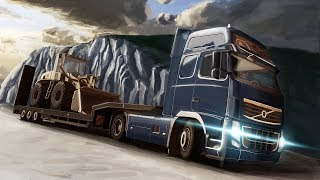 Строго по ПДД 2  [ETS 2 MP]// Euro Truck Simulator 2.  #14 (руль logitech g29)