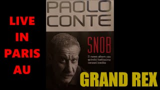 PAOLO CONTE LIVE IN PARIS AU GRAND REX LE 27 JANVIER 2015