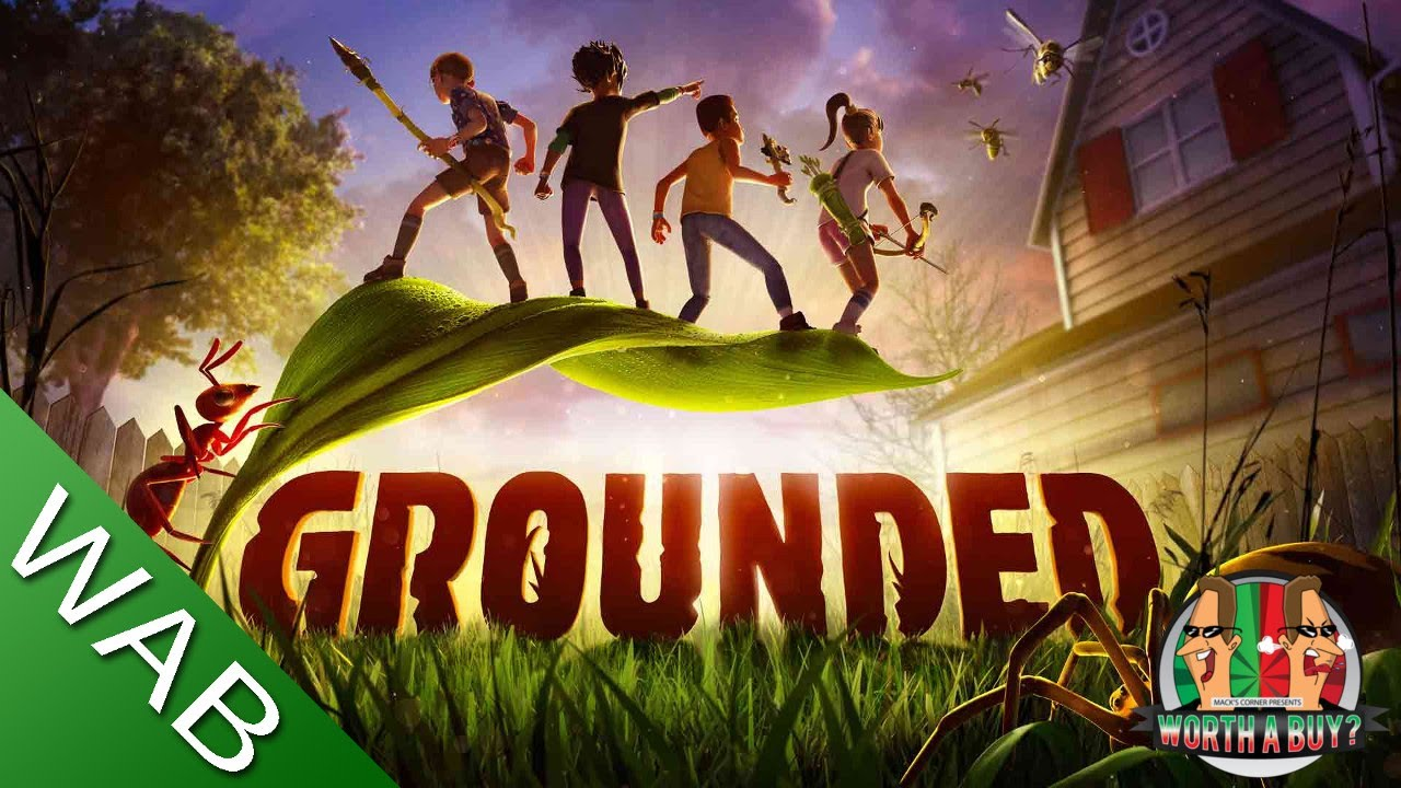 Grounded Review (early access) - Shrunk to ant size you must survive. (Video Game Video Review)
