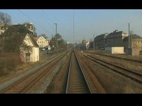Bahn TV Nürnberg - Dresden 3 Glauchau - Dresden 02.2008