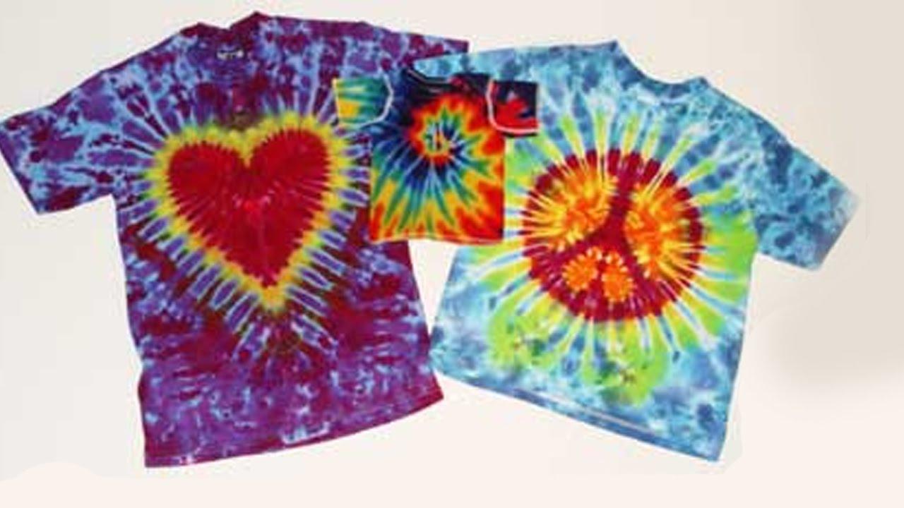 Geliefde DIY TIE DYE SHIRT   Maak zelf regenboog tshirts met Textiel Dye  &EM77