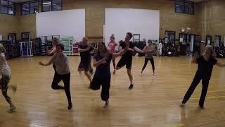 "Masala Bhangra with Deb West Side YMCA NYC ""Gur Nalo Ishq Mitha"" Yo Yo Honey Singh"