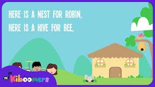 Houses Song Lyrics for Preschool | House Songs for Kids