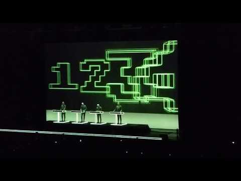 Kraftwerk-Numbers/Computer World--Live 2018  in Athens, Greece at Tae Kwon Do Stadium --03-03-2018