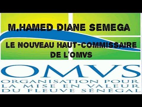 L'OMVS désormais dirigé par Hamed Diane SEMEGA