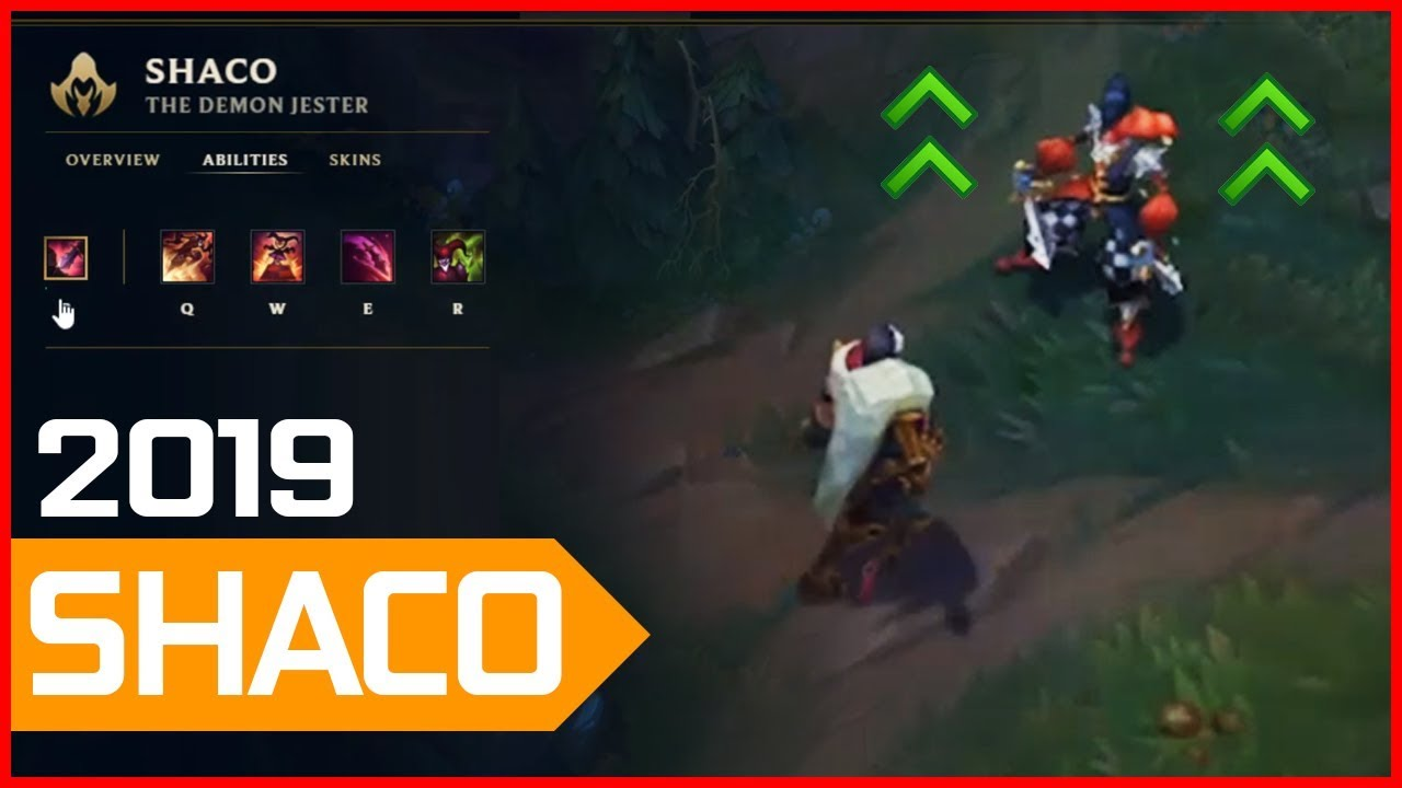 Shaco Build Guide : ✔️ 9 17 WHITE CROW's Diamond Guide to