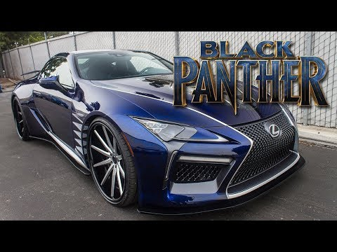Black Panther Lexus LC 500 Feature