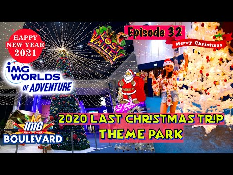 Dubai Vlog| Christmas in IMG Worlds of Adventure | Largest indoor theme park | Things to do in Dubai