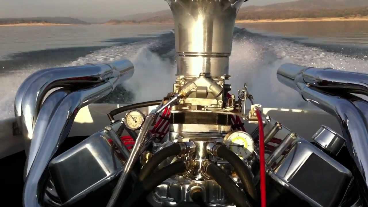 Header Water Bassett OT 1979 Rogers Jet Boat WOTMOV