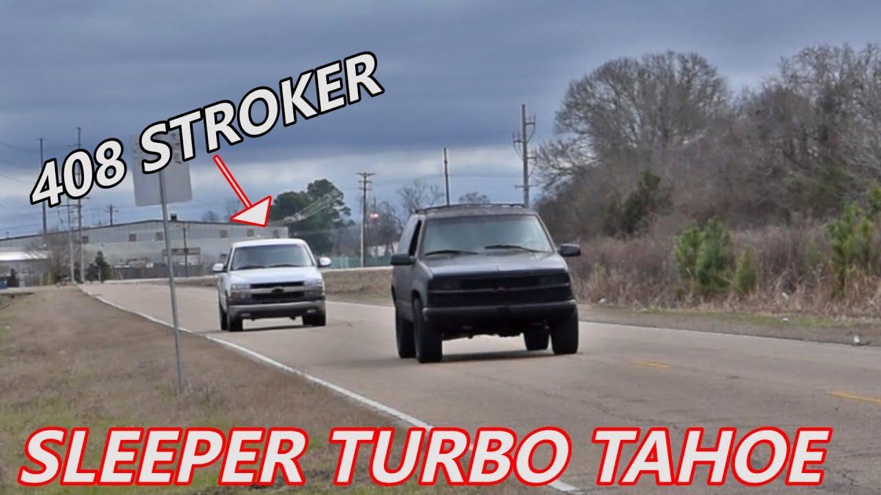 SLEEPER Tahoe Races 408 STROKER Silverado and THIS Happens