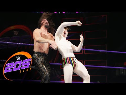 Gentleman Jack Gallagher vs. The Brian Kendrick: WWE 205 Live, Aug. 1, 2017