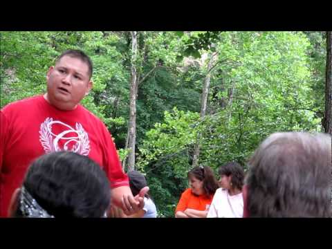 Choogie Kingfisher. Native American Storyteller.
