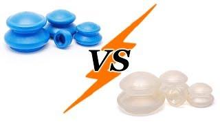 Сравнение резиновых и силиконовых антицеллюлитных вакуумных банок. Что лучше?